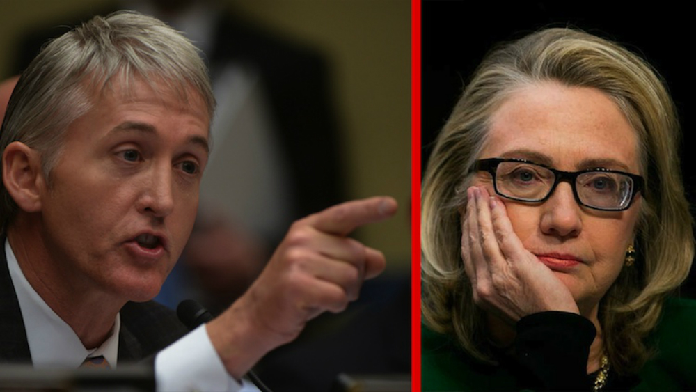 Gowdy Vs. CLinton October 22nd...